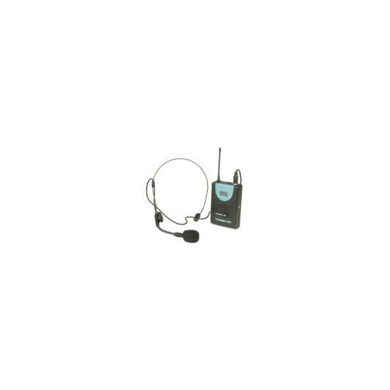 Citronic UHF Wireless Transmitter with Headset Microphone