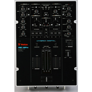Photo of Vestax PMC08PRO Mixer Turntables and Mixing Deck