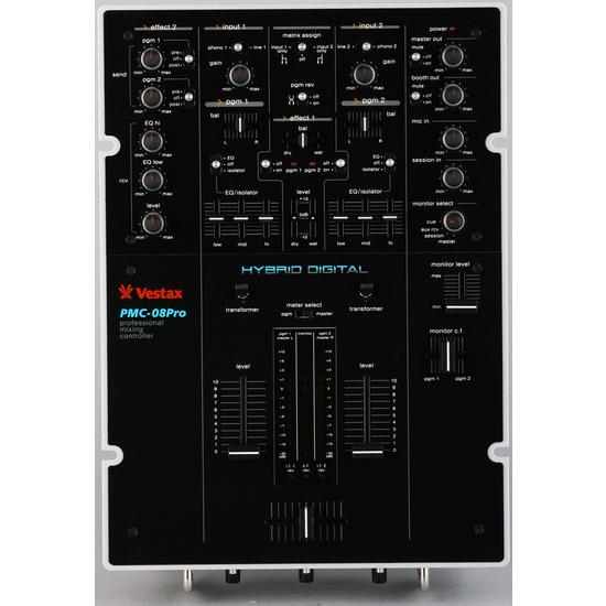 Vestax PMC08Pro Mixer