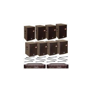 Photo of NJD Celestion 4 X 15&Quot; Tops & 4 X 15&Quot; Bass 2800 Watt Sound System Speaker