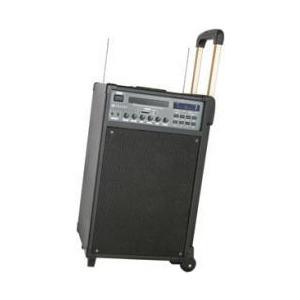 Photo of Skytec Portable DVD/MP3 Karaoke System With 2 X Handheld Radio Mics TEC076 Party