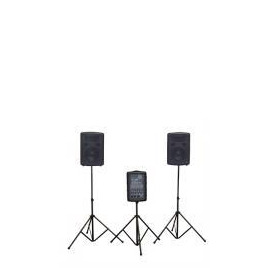 Soundlab 2 x 100W Portable PA System With Carry Case Reviews