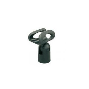 Photo of Microphone Holder With Flexible Rubber Grip For 40MM Mics Musical Instrument Accessory