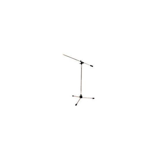 Soundlab Microphone Stand with Boom Chrome