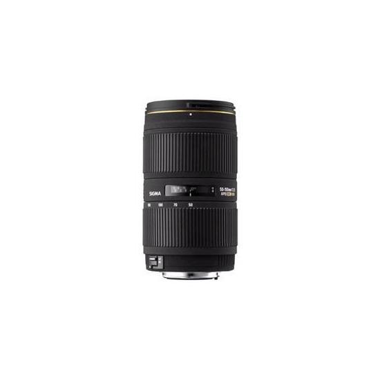 50-150mm f/2.8 MkII EX DC HSM (Canon AF)