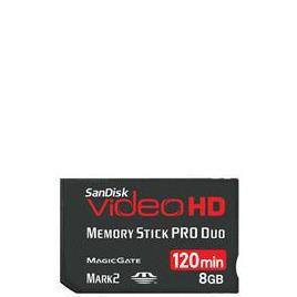Video HD Memory Stick PRO Duo 8GB Reviews