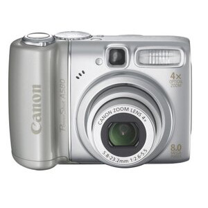 Photo of Canon Powershot A580 Digital Camera