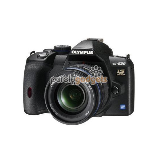 Olympus E-420 with 14-42mm lens