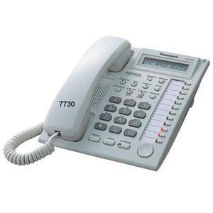 Photo of Panasonic KX-T7730 System Phone Landline Phone