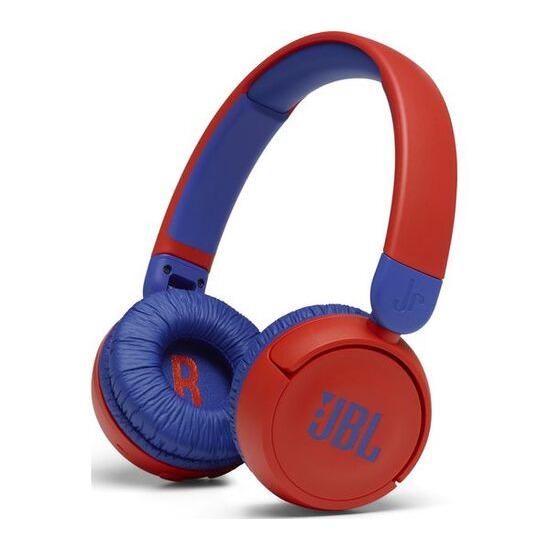 JBL Jr310BT Wireless Bluetooth Kids Headphones - Red & Blue