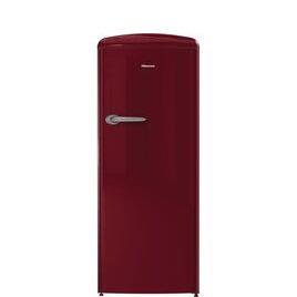 Hisense RR330D4OR2UK Tall Fridge - Red Reviews