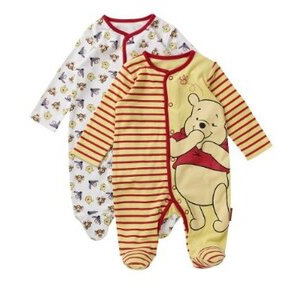 Photo of Disney Sleepsuits - 2 Pack Baby Product