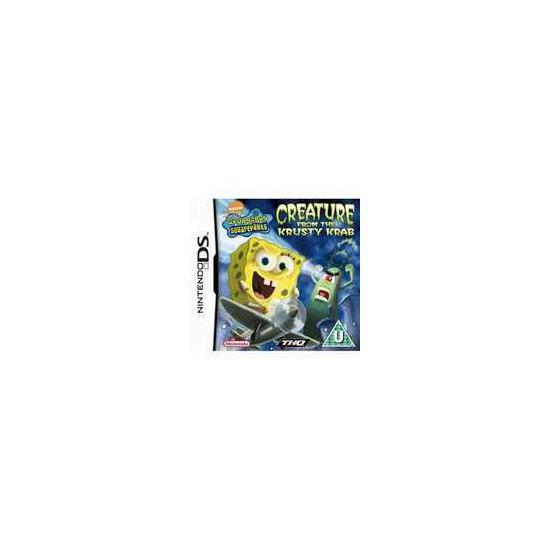 Spongebob Squarepants: Creature From Krusty Krab Nintendo DS