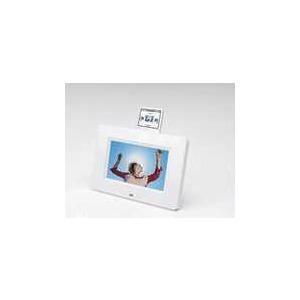 "Photo of LOGIK 7"" WHT + iPod DK Digital Photo Frame"