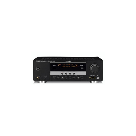 YAMAHA DSPAX463 AMPLIFIER BLACK