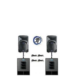 Mackie Powerpack # 3 Mk2 - 1900WRMS Active Sound System Reviews
