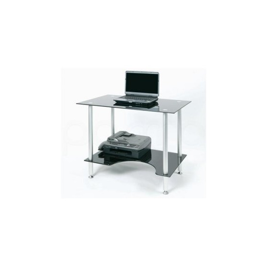 Jual PC005LTB - Laptop or Small Computer Desk Black Glass