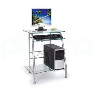 Photo of Net Station Glass Computer Desk