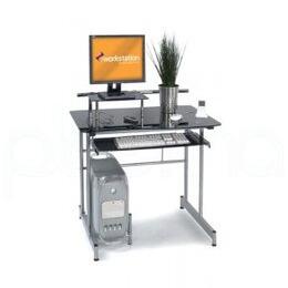 Vegas Black Glass Computer Desk Reviews