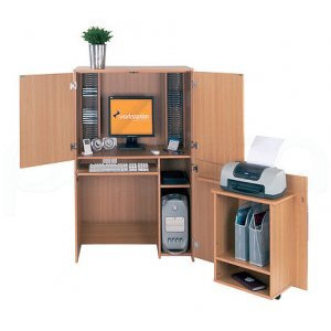 Photo of Texas Tall Hideaway Office Furniture