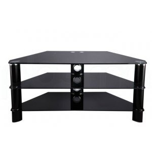 Photo of Stil Stand 2006CHBB Glass TV Stand TV Stands and Mount
