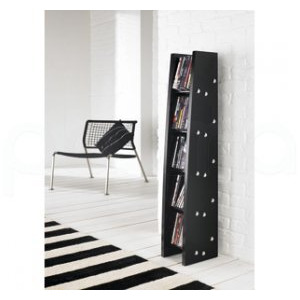 Photo of DVD / CD Rack From Alphason In Black CD and DVD Storage