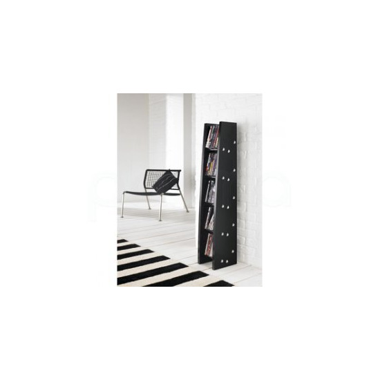 DVD / CD Rack from Alphason in Black