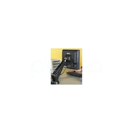 Comrac Ltd COMLA02B Gas Assisted Desk Mount