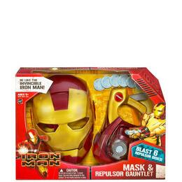 Iron Man Mask and Repulsor Gauntlet Reviews