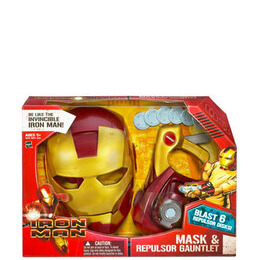 Iron Man Mask and Repulsor Gauntlet Reviews