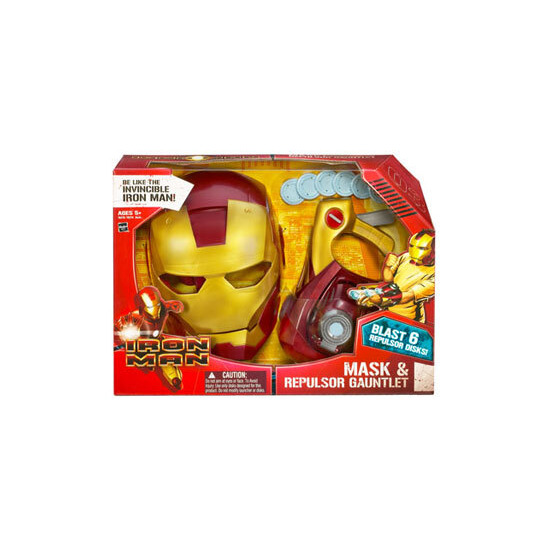 Iron Man Mask and Repulsor Gauntlet