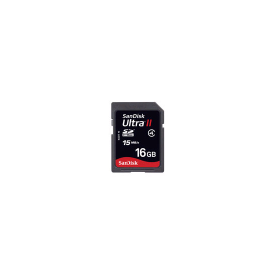 SanDisk Ultra II SDHC 16GB