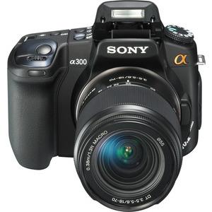 Photo of Sony Alpha DSLR-A300 (Body) Digital Camera