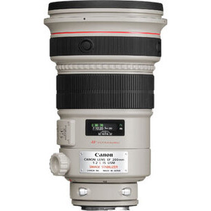 Photo of Canon EF 200MM F/2L IS USM Lens