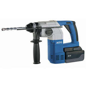 Photo of AEG 24V SDS+ 3 Mode Hammer Drill With 2 Batteries Power Tool