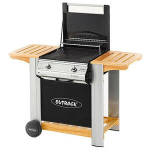 Photo of Outback Spectrum 2 Burner Flatbed Gas BBQ BBQ