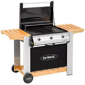 Photo of Outback Spectrum 3 Burner Flatbed Gas BBQ BBQ