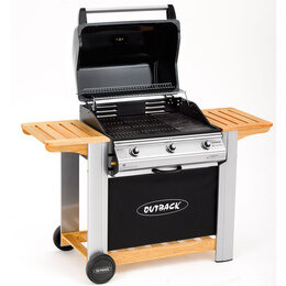 Outback Spectrum 3 Burner Hooded Gas BBQ Reviews