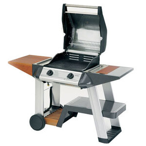 Photo of Outback Sapphire 2 Burner Hooded Stainless Steel Gas BBQ BBQ