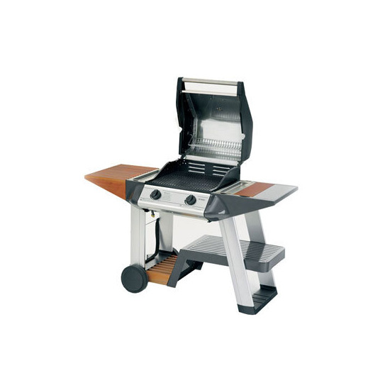 Outback Sapphire 2 Burner Hooded Stainless Steel Gas BBQ