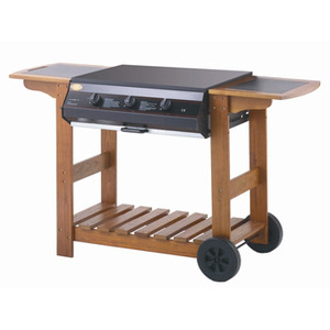 Photo of Lifestyle Queensland 3 Burner Flatbed BBQ BBQ