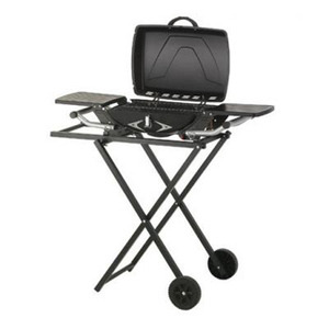 Photo of Lifestyle Portable Gas BBQ With Trolley and Carry Case BBQ