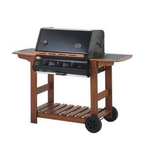 Photo of Lifestyle Queensland 3 Burner BBQ With Hood BBQ