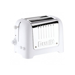 Photo of Dualit Toaster 2 Slice Lite 25003 In Soft Touch White Toaster