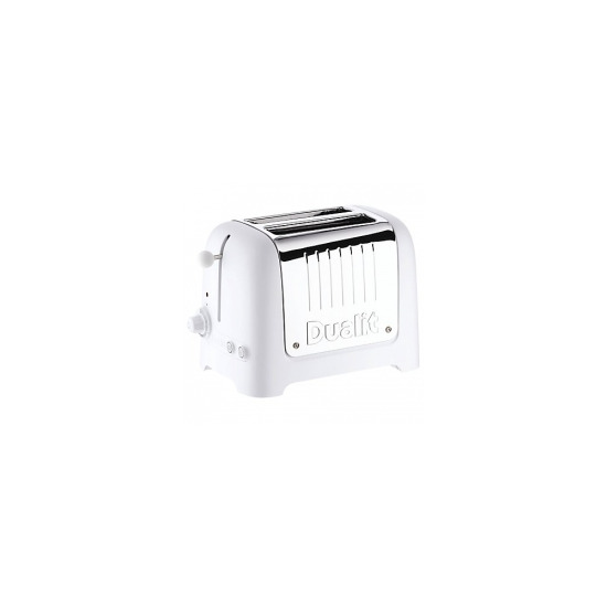Dualit Toaster 2 Slice Lite 25003 in Soft Touch White