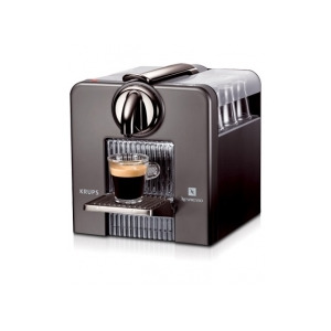 Photo of  Nespresso Krups Le Cube Titanium and Cup Warmer XN5005 Coffee Maker