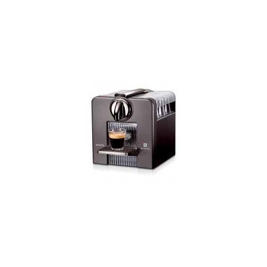 Nespresso Krups Le Cube Titanium and cup warmer XN5005