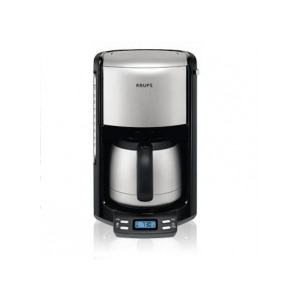 Photo of Krups Fliter Pro Aroma Black Thermo Jug & Programmable FMF794 Coffee Maker
