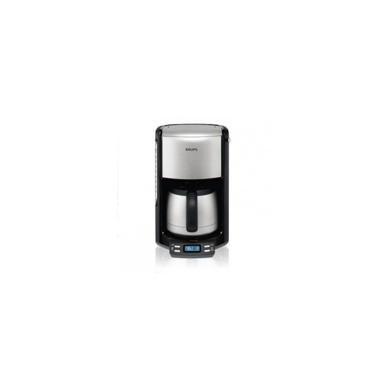 Krups Fliter Pro Aroma Black Thermo Jug & Programmable FMF794