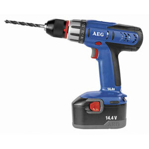 Photo of AEG 14.4V Drill Driver With 2 X 1.5AH NICD Batteries + One Free Battery Power Tool